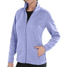 Merrell McKenzie Jacket - Full Zip (For Women) in Cornflower Heather - Closeouts