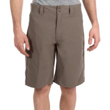 Merrell Meridian Shorts - UPF 50+, Opti-Wick® (For Men) in Boulder - Closeouts