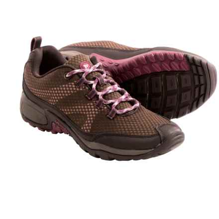 Merrell Messomorph Hiking Shoes (For Women) in Dark Earth/Pale Lilac - Closeouts