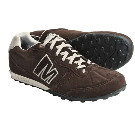 Merrell Miles Lace-Up Shoes (For Men) in Espresso/Oyster
