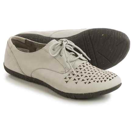 Merrell Mimix Cheer Shoes - Leather, Lace-Ups (For Women) in Dusty Blue - Closeouts