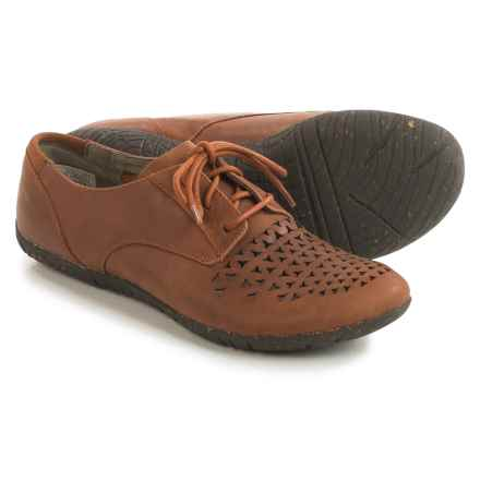 Merrell Mimix Cheer Shoes - Leather, Lace-Ups (For Women) in Tan - Closeouts