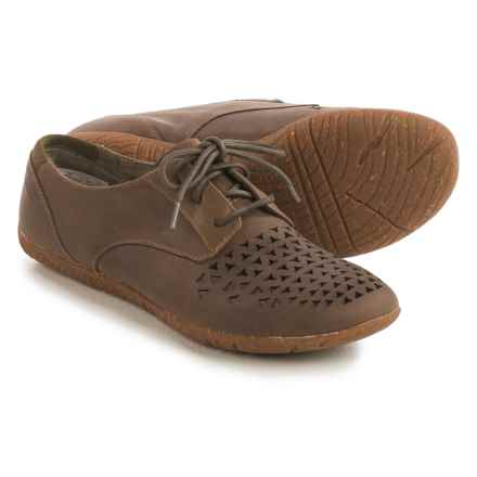 Merrell Mimix Cheer Shoes - Leather, Lace-Ups (For Women) in Taupe - Closeouts