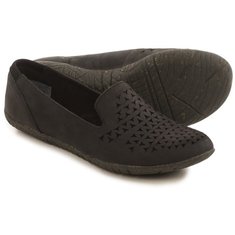 Merrell Mimix Romp Flats - Leather (For Women) in Black