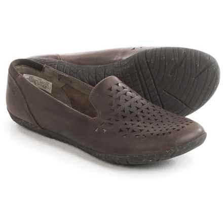 Merrell Mimix Romp Flats - Leather (For Women) in Brown - Closeouts