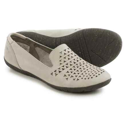 Merrell Mimix Romp Flats - Leather (For Women) in Dusty Blue - Closeouts