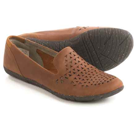 Merrell Mimix Romp Flats - Leather (For Women) in Tan - Closeouts