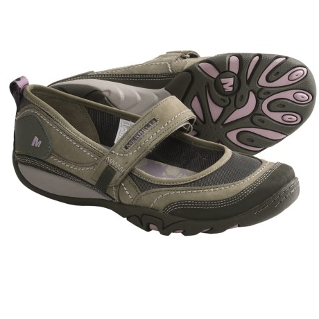 Merrell Mimosa Emme Sandals - Nubuck (For Women) in Dusty Olive