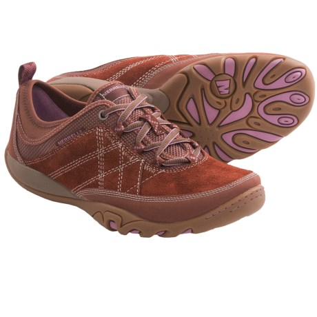 Merrell Mimosa Glee Shoes - Lace-Ups (For Women) in Mocha