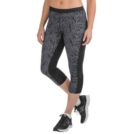 Merrell Mistique Capris (For Women) in Black Print - Closeouts