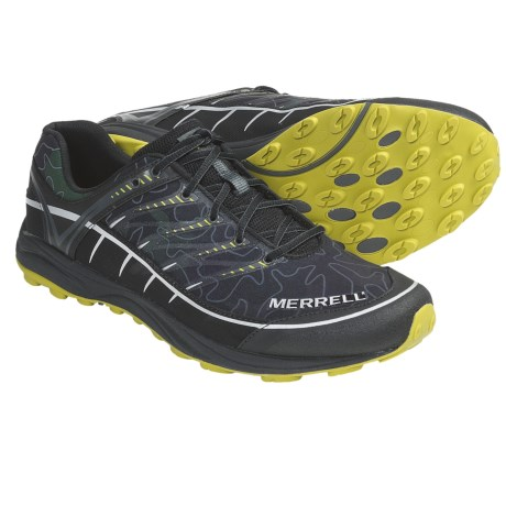 Merrell Mix Master Aeroblock Running Shoes - Minimalist (For Men) in Black