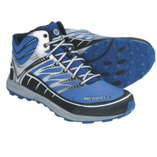 Merrell Mix Master Mid Hiking Boots - Waterproof (For Men) in Apollo/Silver - Closeouts