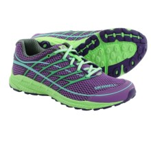Merrell Mix Master Move Glide 2 Trail Running Shoes (For Women) in Royal Lilac/Bright Green - Closeouts