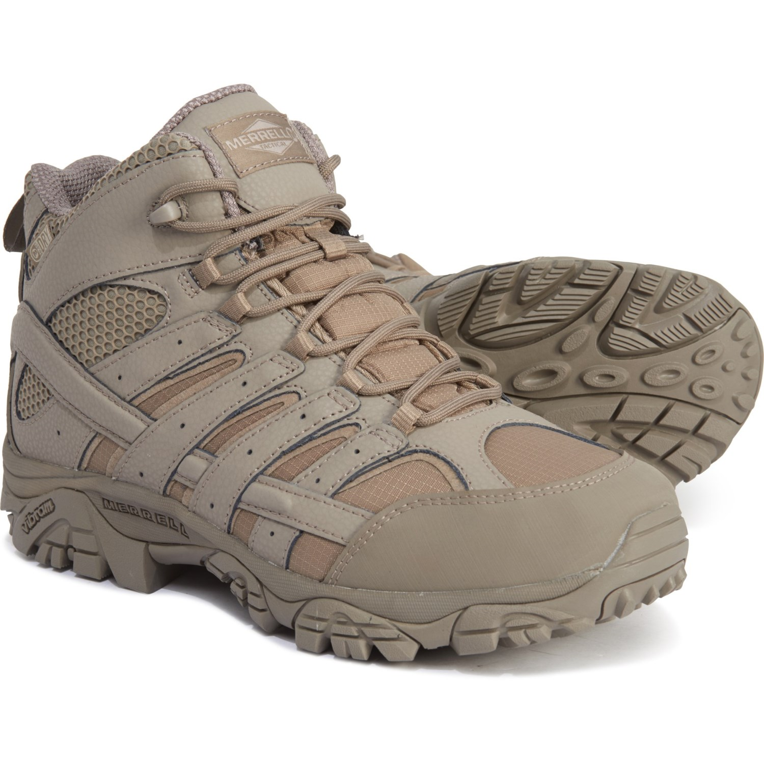 29410719285 Merrell Moab 2 Mid Tactical Boots (For Men) - Save 38%