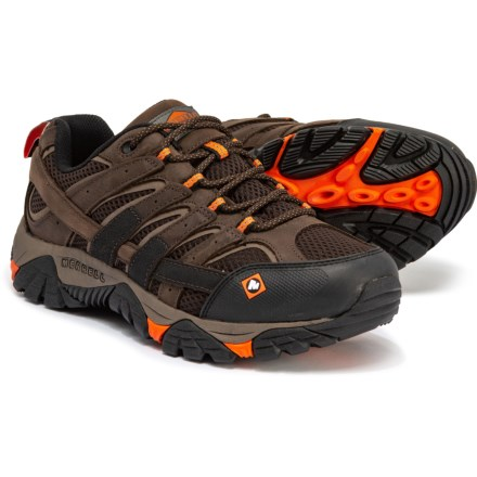 b90a00a8cd5a Merrell Moab 2 Vapor Work Shoes - Leather (For Men) in Espresso