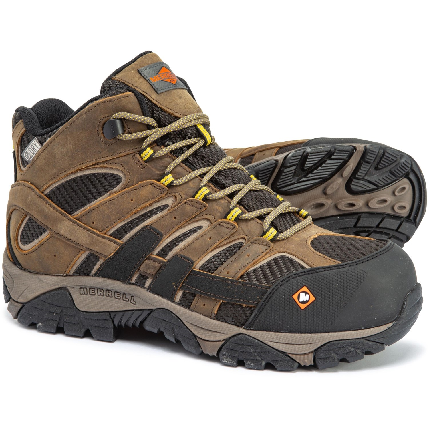 addd01e949b Merrell Moab 2 Vent Work Boots (For Men) - Save 54%