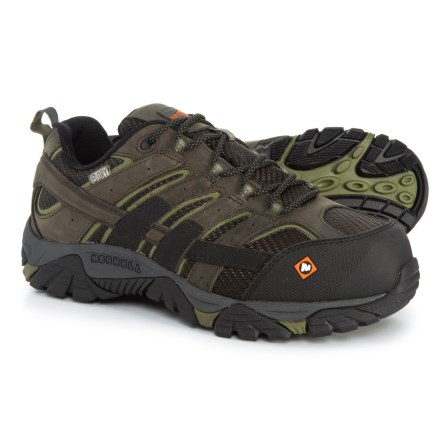 buy online 9ff9e c61f7 Merrell Moab 2 Vent Work Shoes - Waterproof, Composite Safety Toe (For Men)