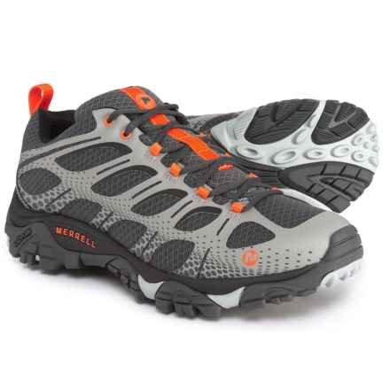 Merrell Moab Edge Hiking Shoes (For Men) in Grey - Closeouts