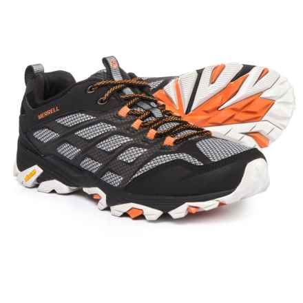 Merrell Moab FST Hiking Shoes (For Men) in Black - Closeouts