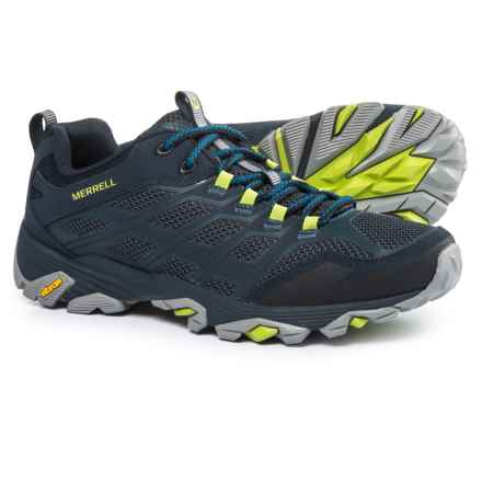 Merrell Moab FST Hiking Shoes (For Men) in Navy - Closeouts