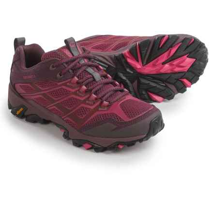 Merrell Moab FST Hiking Shoes (For Women) in Beet Red - Closeouts