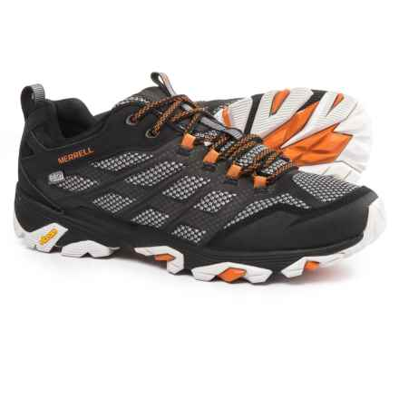 Merrell Moab FST Hiking Shoes - Waterproof (For Men) in 001 Black - Closeouts