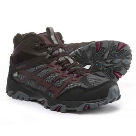 Merrell Moab FST Ice+ Thermo Hiking Boots - Waterproof, Insulated (For Women) in Black - Closeouts