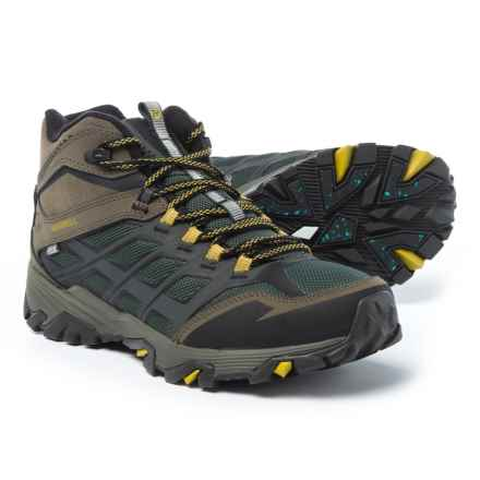 Merrell Moab FST Ice+ Thermo Snow Boots - Waterproof (For Men) in Pine Grove/Dy Olive - Closeouts