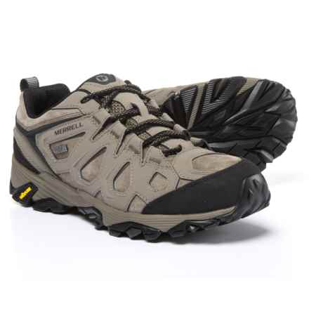 Merrell Moab FST Leather Hiking Shoes - Waterproof (For Men) in Boulder - Closeouts