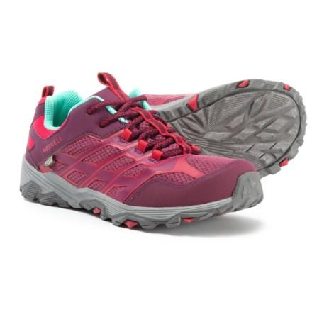 7ecc0fd618f4 Merrell Moab FST Low A C Hiking Shoes - Waterproof (For Big Girls)