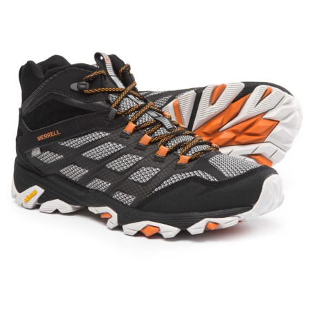 Merrell Moab FST Mid Hiking Boots - Waterproof (For Men)