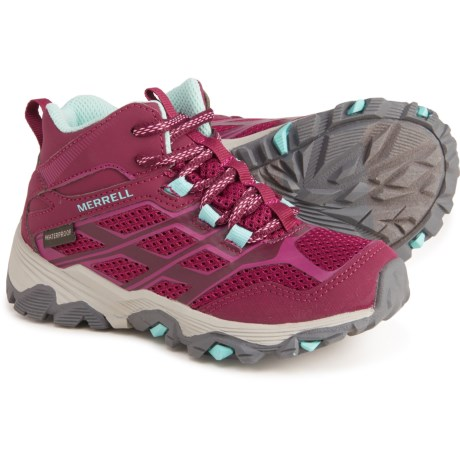 Merrell Moab FST Mid Hiking Shoes (For