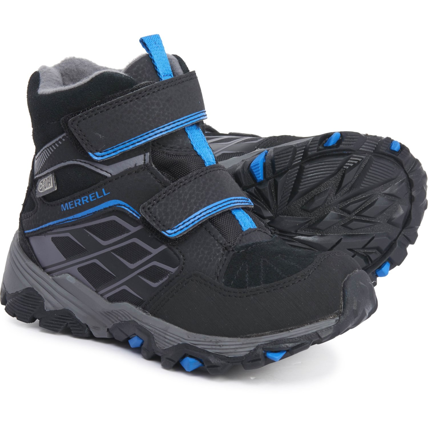 amazing quality street price info for Merrell Moab FST Polar Mid A/C Snow Boots (For Boys) - Save 42%