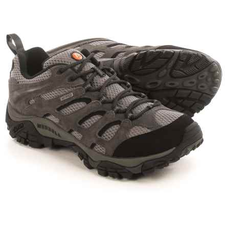 Merrell Moab Hiking Shoes - Waterproof (For Men) in Beluga - Closeouts