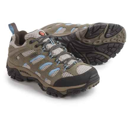 Merrell Moab Hiking Shoes - Waterproof (For Women) in Dusty Olive - Closeouts