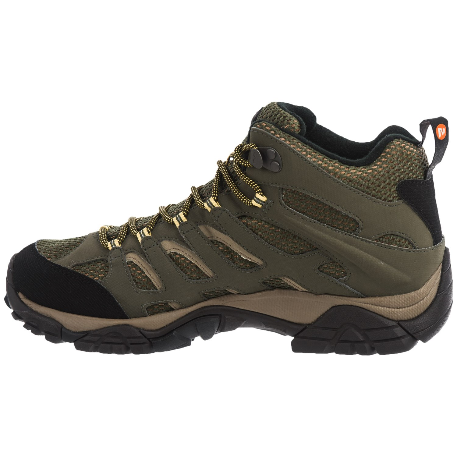 Merrell Moab Mid Hiking Boots (For Men) - Save 38%
