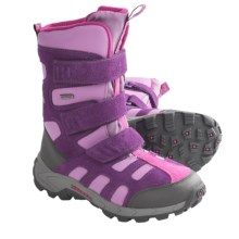 Merrell Moab Polar Snow Boots - Waterproof, Insulated (For Kids and Youth) in Wineberry - Closeouts