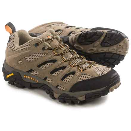 Merrell Moab Ventilator Hiking Shoes (For Men) in Walnut - Closeouts