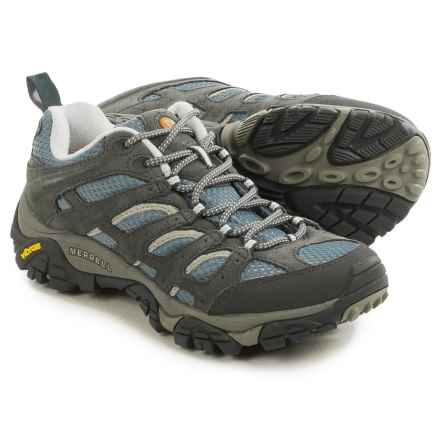 Merrell Moab Ventilator Hiking Shoes (For Women) in Smoke - Closeouts
