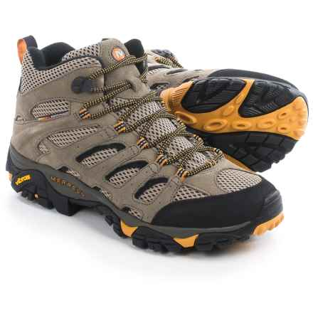 Merrell Moab Ventilator Mid Hiking Boots (For Men) in Walnut - Closeouts