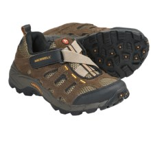 Merrell Moab Ventilator Shoes (For Kids and Youth) in Walnut - Closeouts
