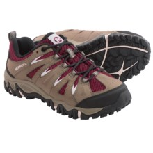 Merrell Mojave Hiking Shoes - Leather (For Women) in Boulder/Red - Closeouts