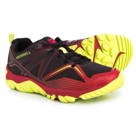 Merrell MQM Edge Trail Running Shoes (For Men) in Red - Closeouts