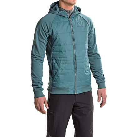 Merrell Murren PrimaLoft® Hybrid Hoodie (For Men) in Blue Spruce - Closeouts