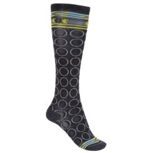 Merrell Myra Socks - Merino Wool, Over the Calf (For Women) in Dark Charcoal - Closeouts