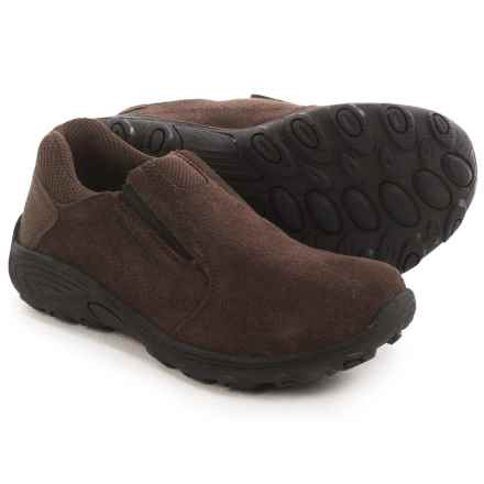 Merrell Novica Moc Shoes - Slip-Ons (For Little and Big Kids) in Brown - Closeouts