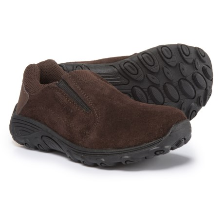 Merrell Novica Suede Shoes - Slip-Ons (For Boys) in Brown