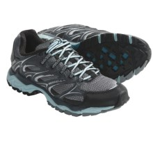 Merrell NTR Seismic Trail Running Shoes (For Women) in Dark Shadow/Pastel Turquoise - Closeouts