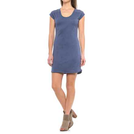 Merrell Nyla Dress - Short Sleeve (For Women) in Crown Blue - Closeouts