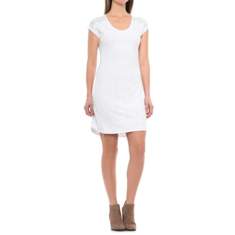 Merrell Nyla Dress - Short Sleeve (For Women) in White